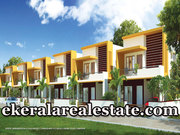 New Villas for Sale at Menamkulam Kazhakuttom 48 lakhs