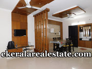 1200 Sqft AC Flat for Rent at Vazhuthacaud