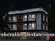 New 2 BHk Apartment Sale in Poojappura