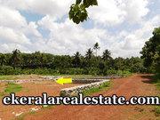 8 cent sland plot for sale in Toll Mukku Junction Attingal