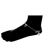 Check out the collection of designer anklets or payal design by Anurad