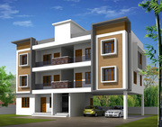 Ambalamukku  2 Bhk Apartment For Sale price 48 lakhs