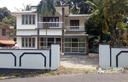 Simply designed two story  house in Muttil @ 70lakh