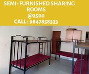 Semi Furnished Sharing Rooms for Gents