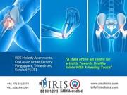 Treatments provided in IRIS Centre Reactive Arthritis