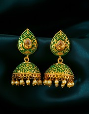 Check out Traditional Earrings to complete your traditional look