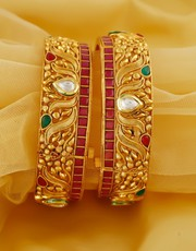 Buy Wedding Bangles and Wedding Chura Online at the Best Price