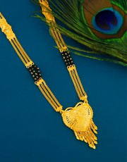 Get Latest Long Mangalsutra Design in Gold at Best Price
