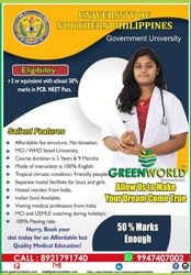 MBBS / MD/ UG / PG/DIPLOMA COURSES IN CANADA,  USA , UK, RUSSIA &GEORGIA,
