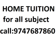 Home tuition and online tuition available for all classes