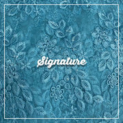 Buy Sky Blue Net Fabric Thread and Floral Embroidery at MK SIGNATURE