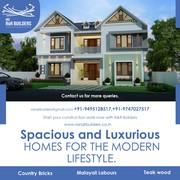 R&R builders|builders thrissur |Ernakulam |Kochi