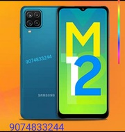 Samsung galaxy M12 phone original with one year warranty