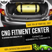 CNG kit fittment