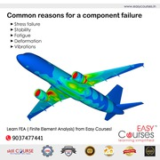 Learn FEA Course : Finite Element Analysis